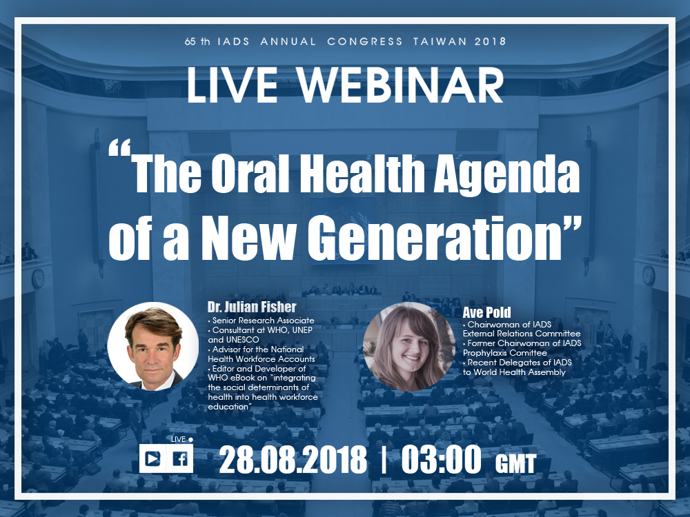 A Global Oral Health Agenda for a New Generation of Dentists
