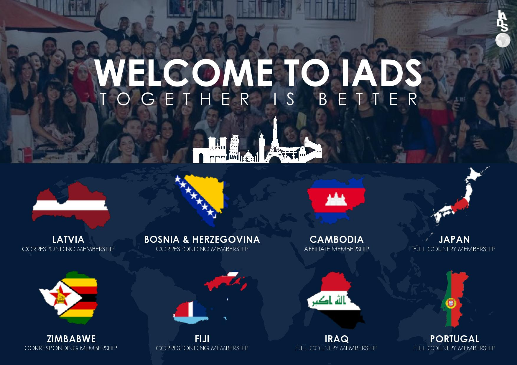 Congratulations to New IADS Members