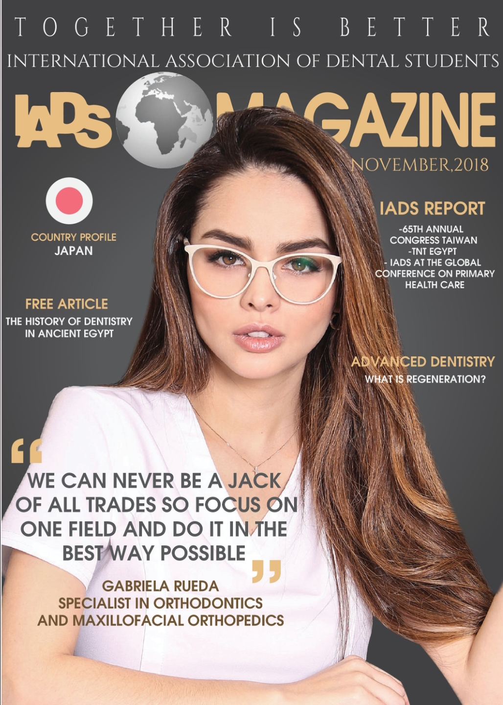 IADS Magazine November 2018 Issue is OUT