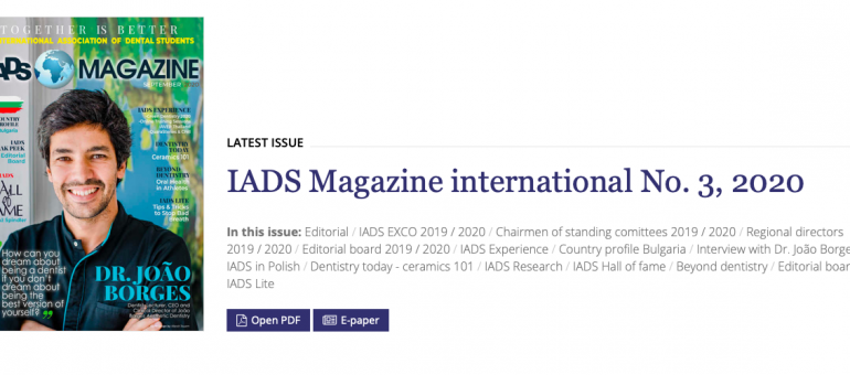 IADS Magazine September issue is now OUT!